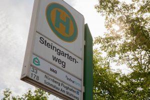 Haltestelle Steingartenweg